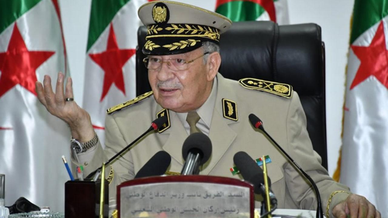 قايد صالح: لا طموحات سياسية لقيادة الجيش