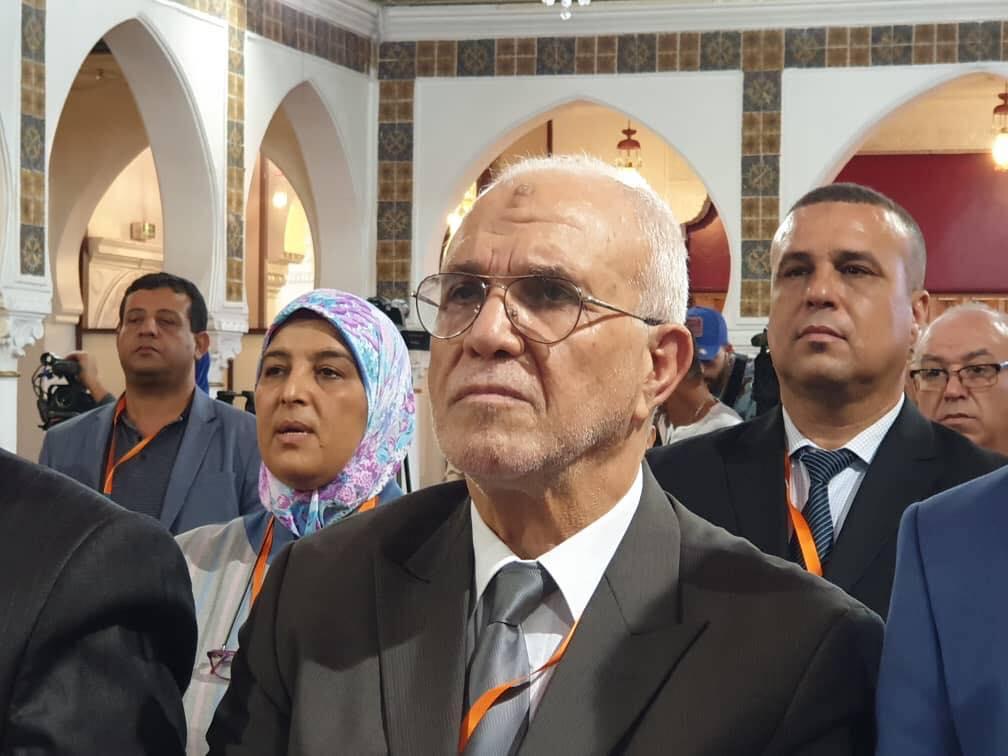 شرفي يلتقي بممثلي 18 حزبا سياسيا