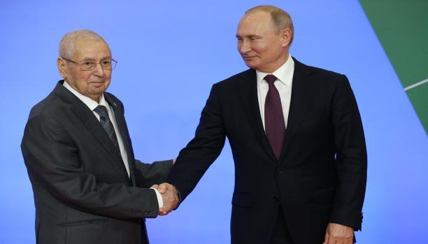 بوتين وبن صالح