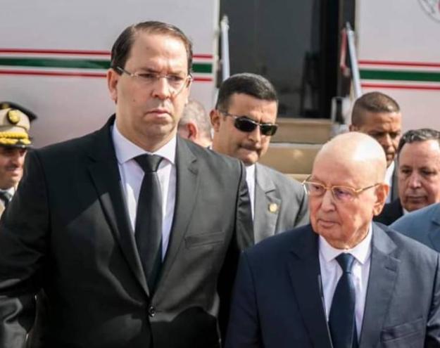 يوسف الشاهد في الجزائر