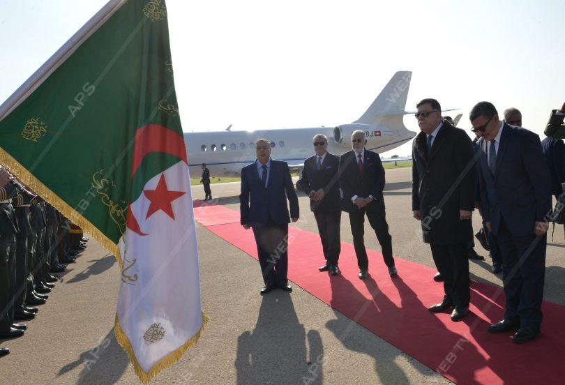 زيارة السراج الى الجزائر