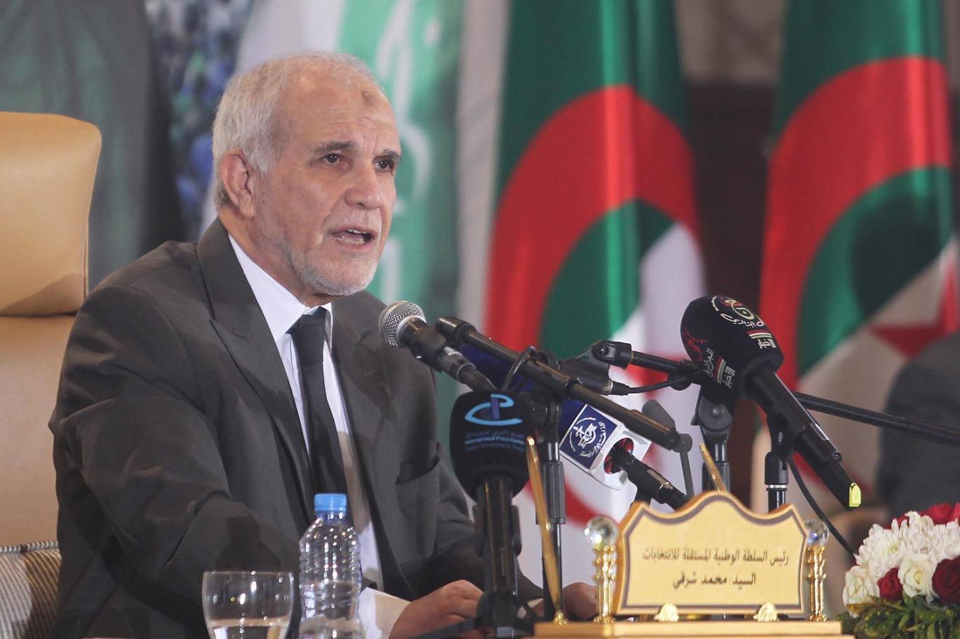 أول تعليق لمحمد شرفي عن سير العملية الانتخابية