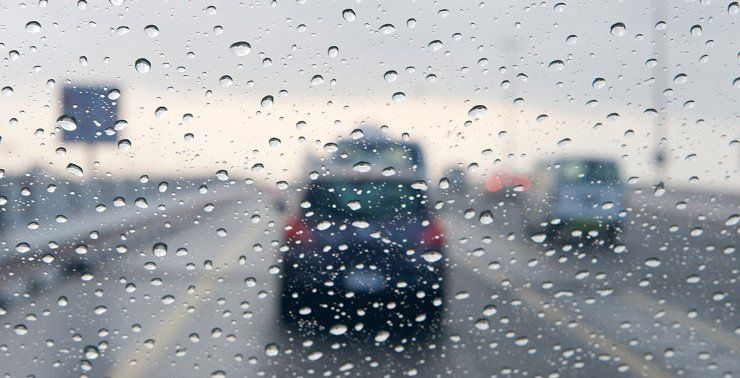 أمطار رعدية وبَرَد على عدد من الولايات