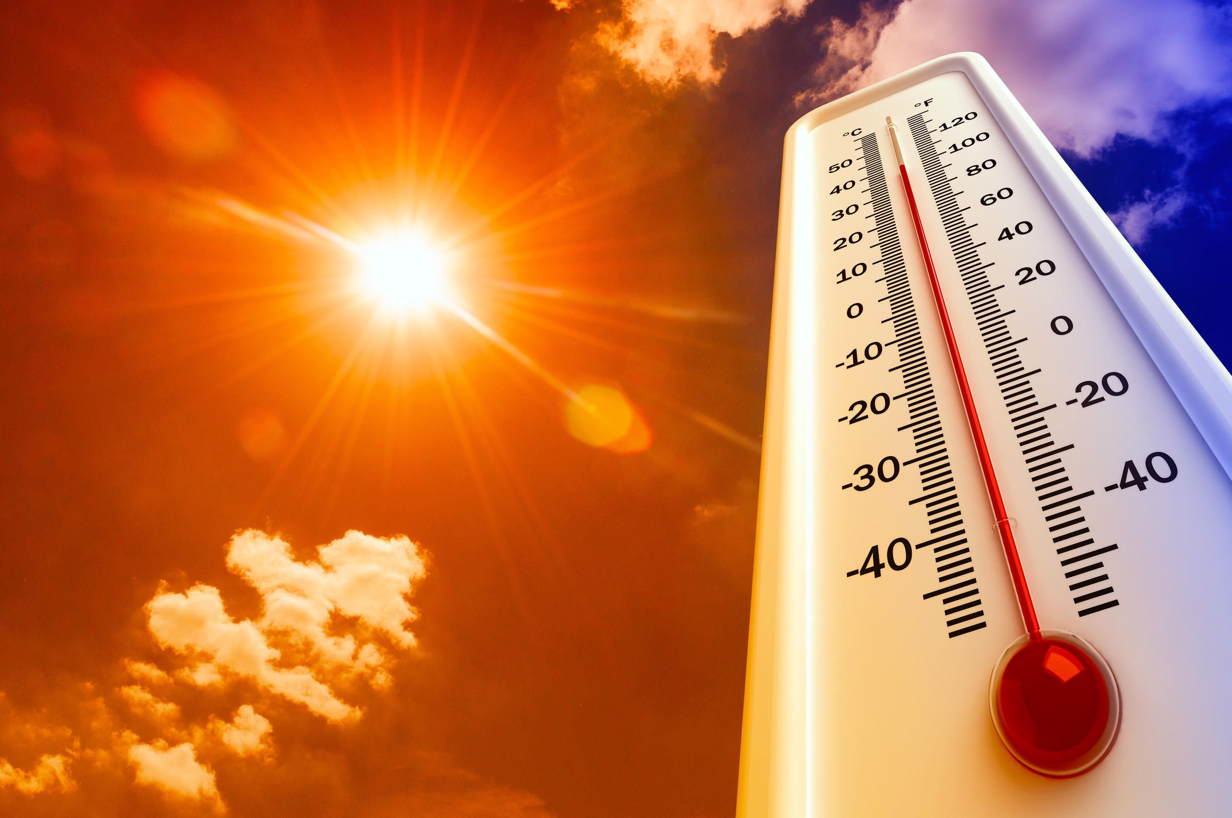 أجواء مشمسة ودرجات حرارة مرتفعة نهار اليوم