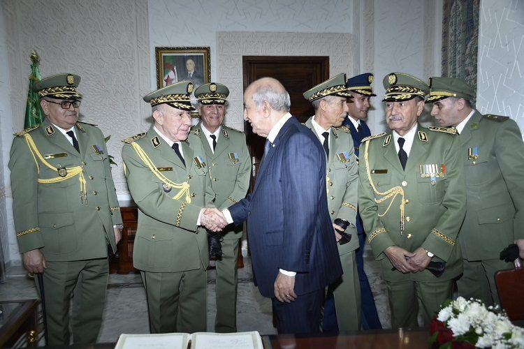 الفريق شنقريحة رئيسا لأركان الجيش الوطني الشعبي