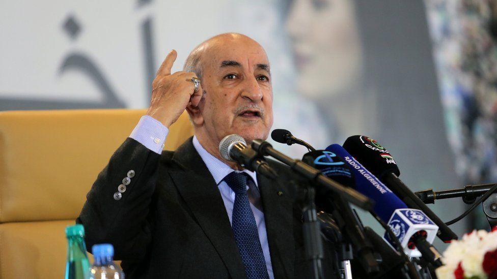 اختيار الرئيس تبون شخصية العام في فلسطين