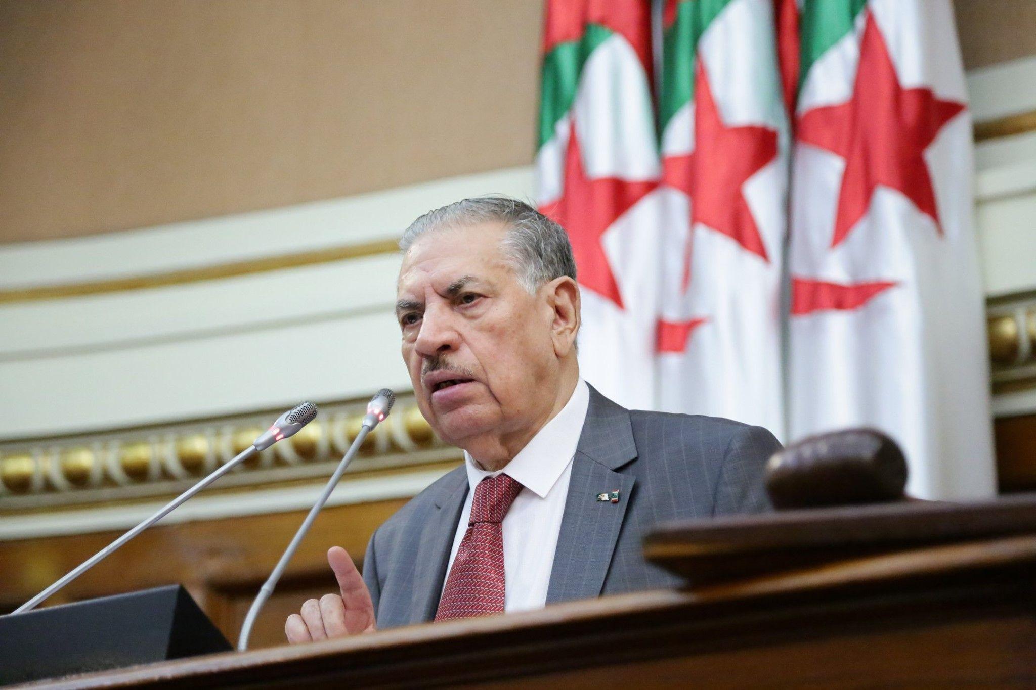 قوجيل: الجزائر مستعدة لإحباط مخططات وأطماع التحالف الصهيوني المغربي