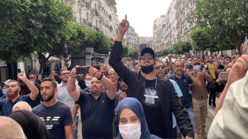 تجمعات ومسيرات بالجزائر إحياء لذكرى أحداث 5 أكتوبر
