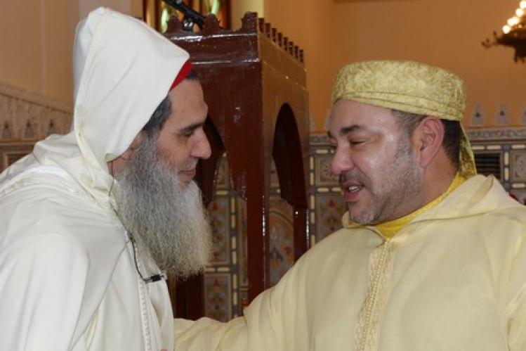 شيوخ المخزن يتهجمون على داعية موريتاني لرفضه الاعتراف بمغربية الصحراء