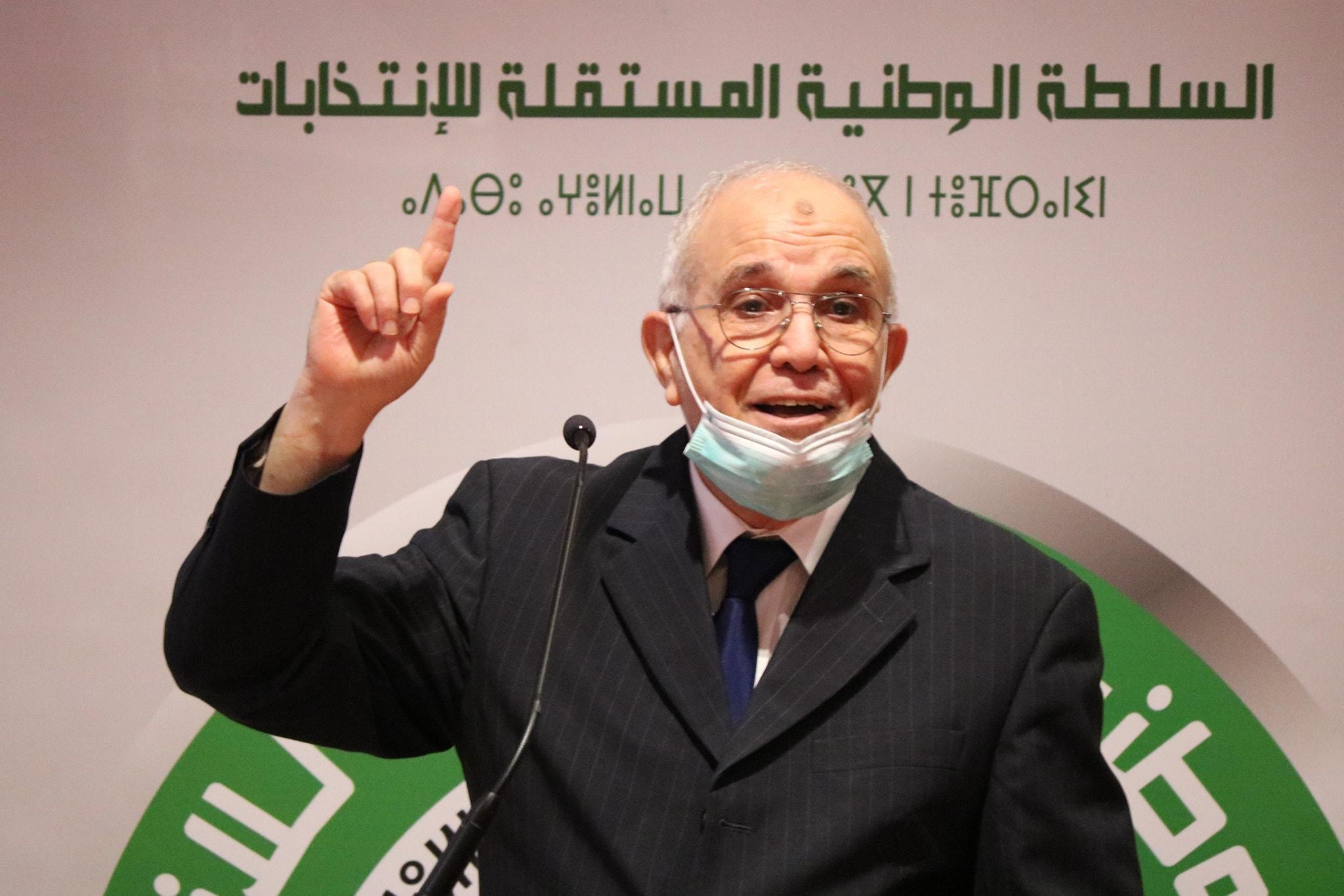 شرفي يستقبل رؤساء الأحزاب السياسية يوم الأحد