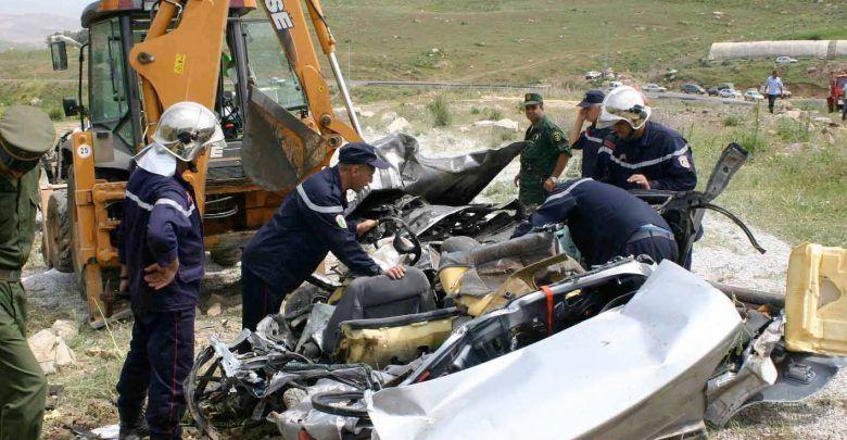حصيلة ثقيلة لحوادث المرور في الجزائر خلال الأسبوع الأخير