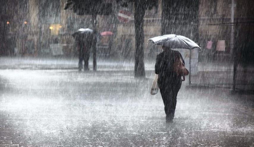 تساقط أمطار رعدية غزيرة على 13 ولاية