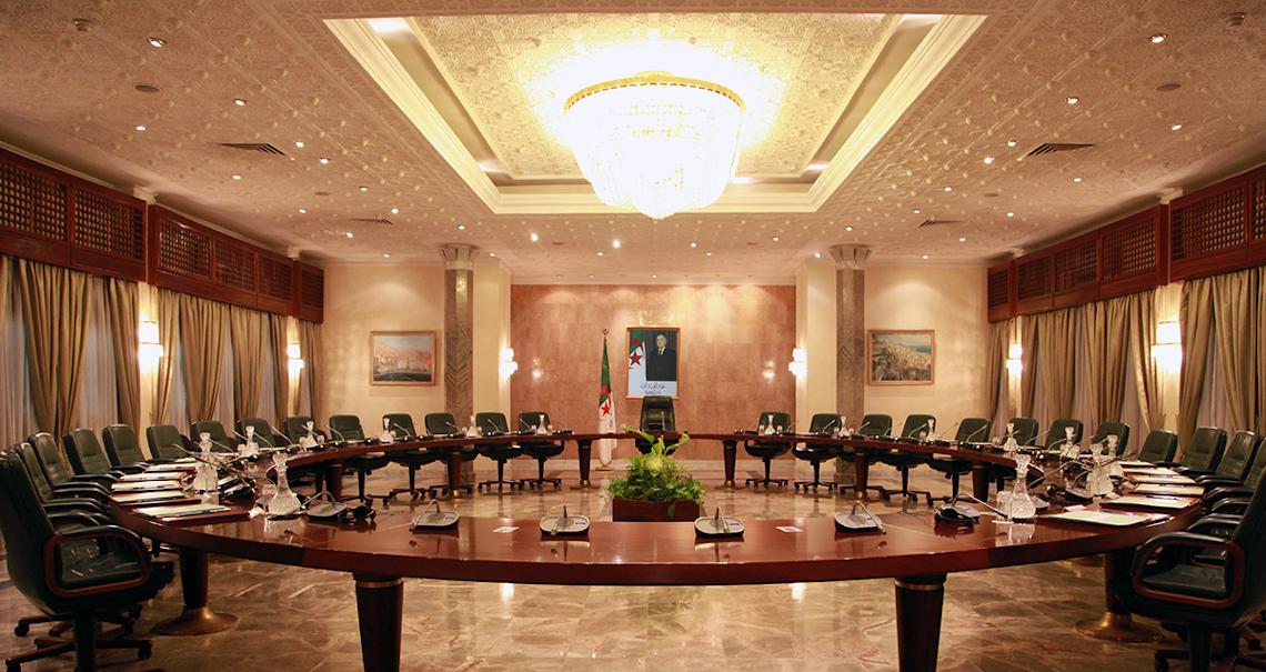 الوزير الأول يترأس اجتماعا للحكومة لدراسة 3 مشاريع مراسيم تنفيذية