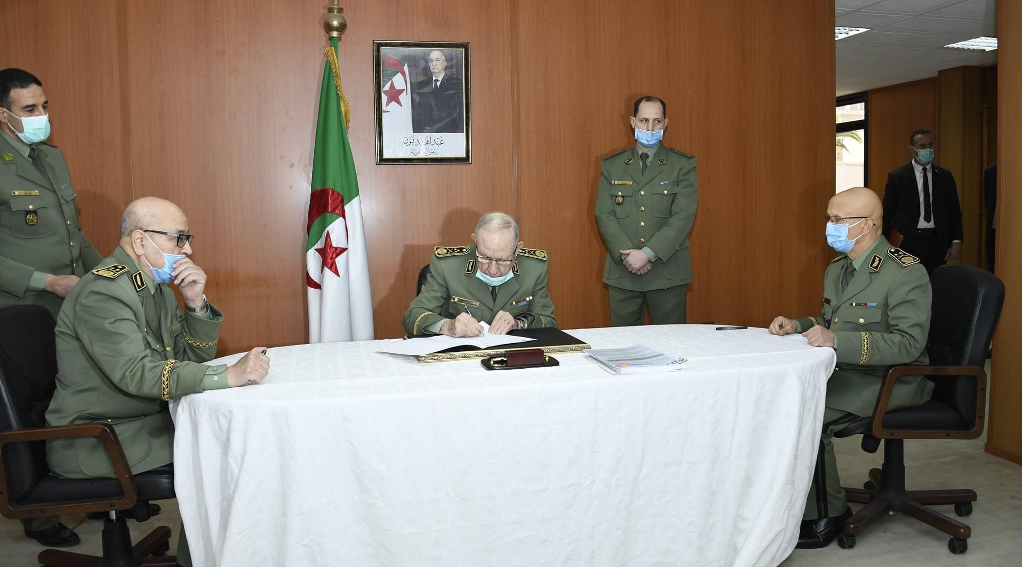 شنقريحة ينصّب اللواء نور الدين مقري مديرا للأمن الخارجي