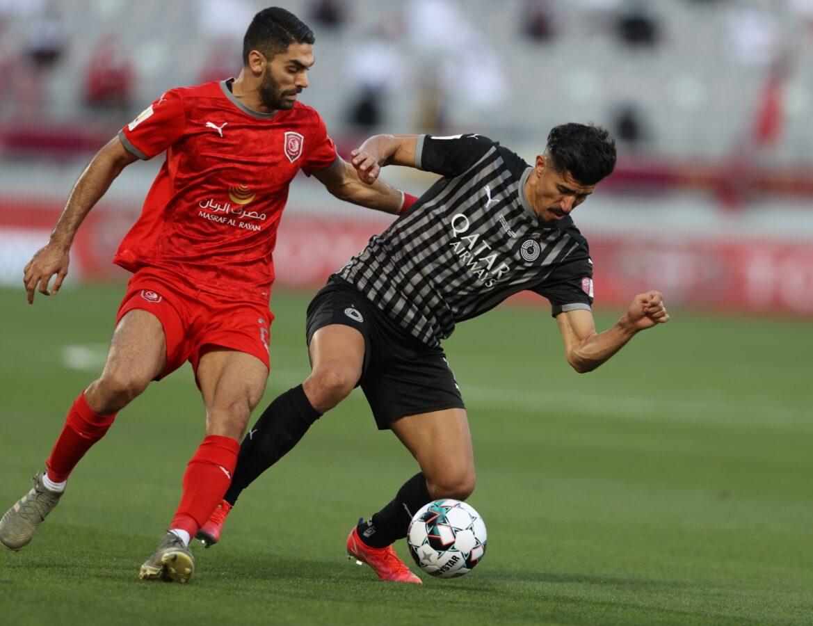بالفيديو ا بونجاح يسجل هدفين ويقود السد للتتويج بكأس قطر