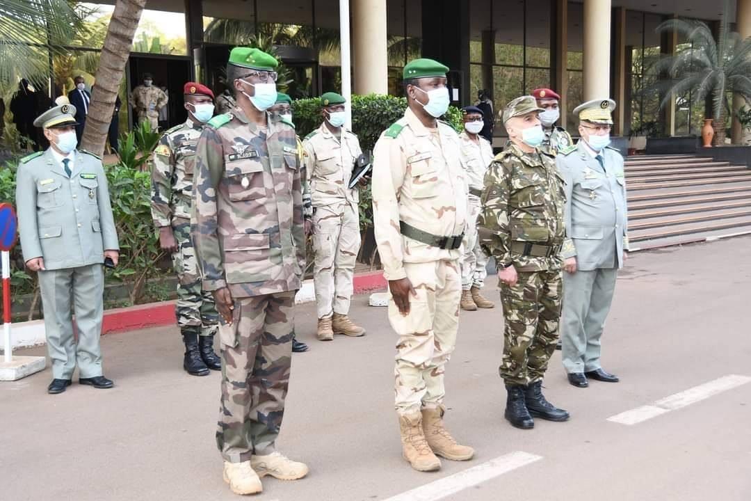اللواء قايدي يشارك في اجتماع لجنة الأركان العملياتية المشتركة بمالي