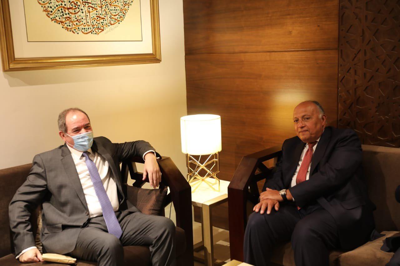 بوقدوم يلتقي عددا من وزراء خارجية الدول العربية