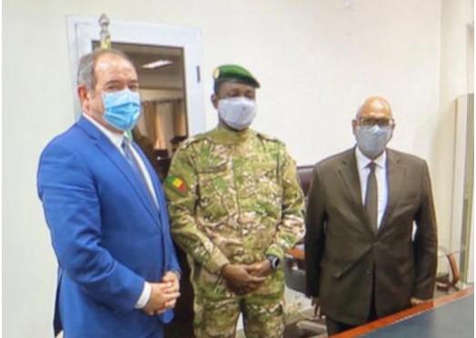 بوقدوم يناقش العلاقات الثنائية بين الجزائر ومالي