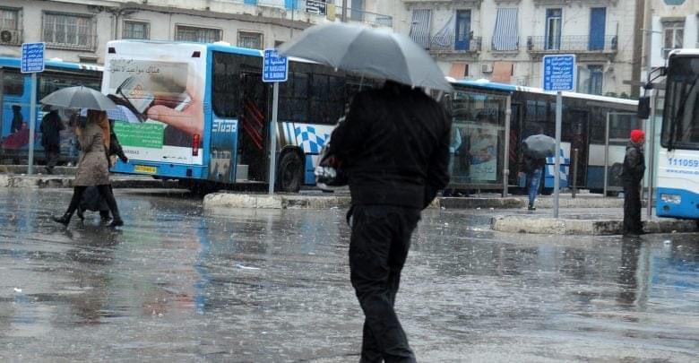 أمطار رعدية على عدد من الولايات الشرقية تصل إلى 30 ملم محليا