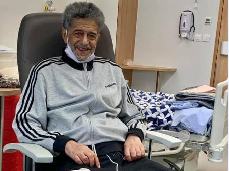 لأول مرة.. صالح أوقروت يعلق على حالته الصحية