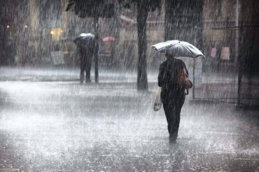 أمطار رعدية على العديد من الولايات