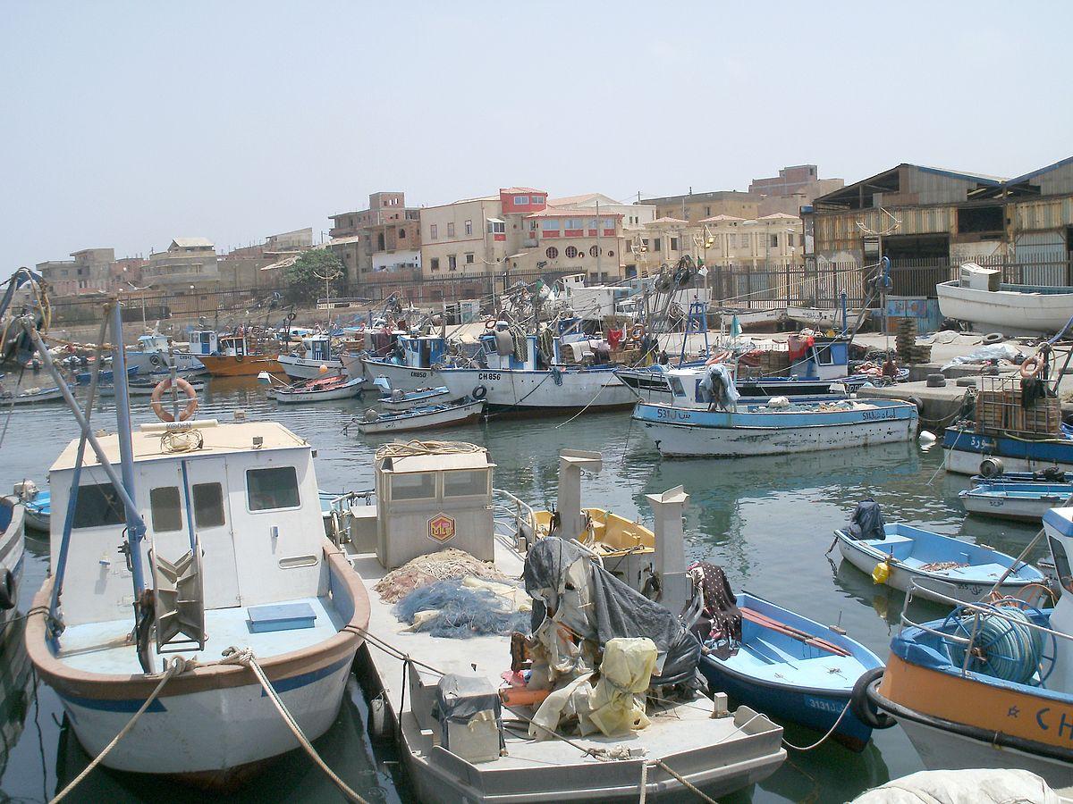 أول قاطرة بحرية جزائرية الصنع ترسوا بميناء بوهارون