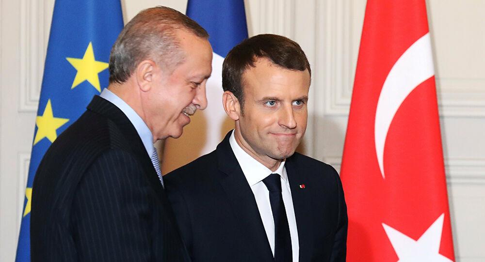 أردوغان ماكرون إهانات